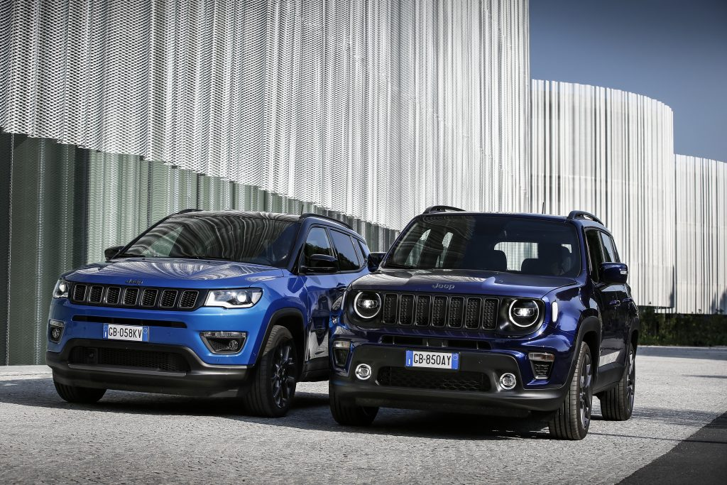 Jeep 4xe  gamme
